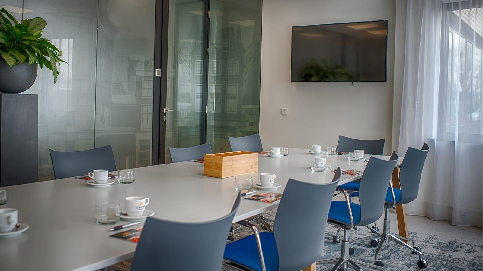 Vergaderzaal in Leiden | Crown Busines Center Leiden Key-Point