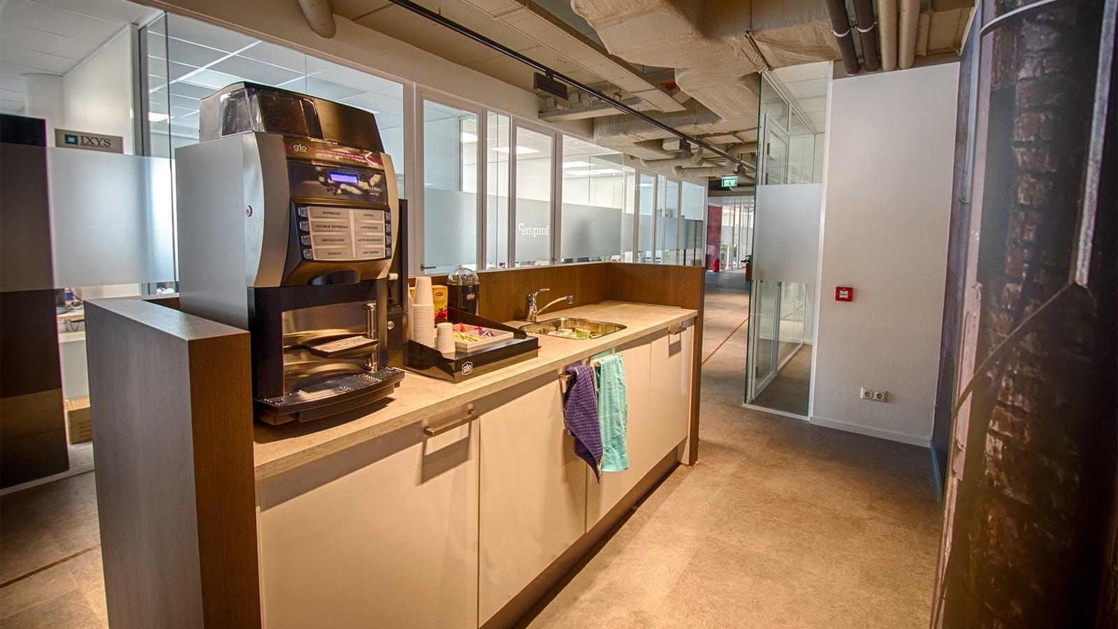 Pantry | Kantoorruimte | Crown Business Center Leiden Key-Point
