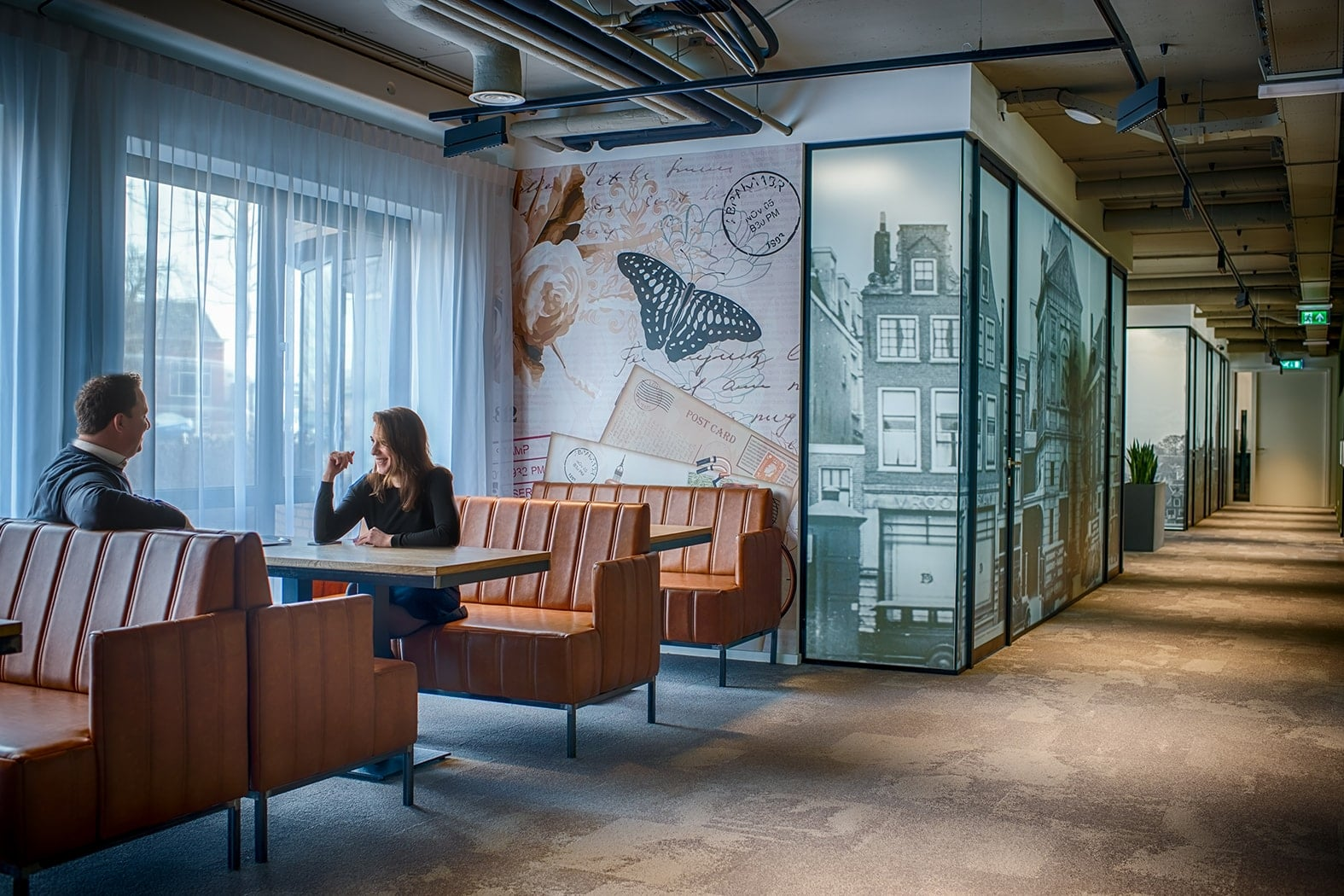 Ontvangstruimte Leiden Key-Point | Crown Business Center | Office & Meetings