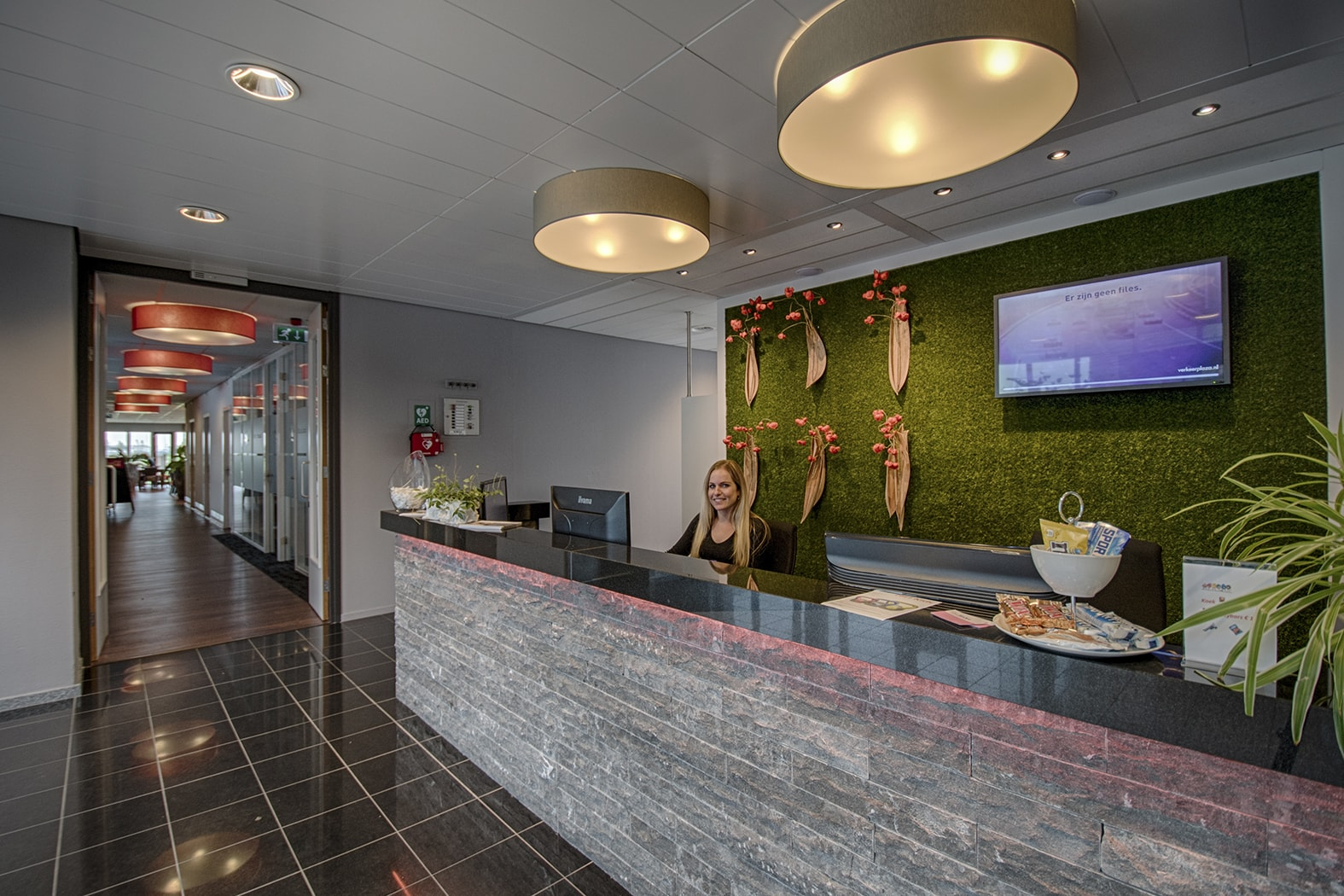 Receptie | Crown Business Center Bodegraven