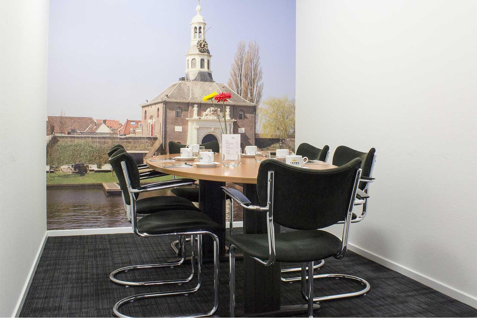 Kleine vergaderruimte Haarlem | Crown Business Center Haarlem