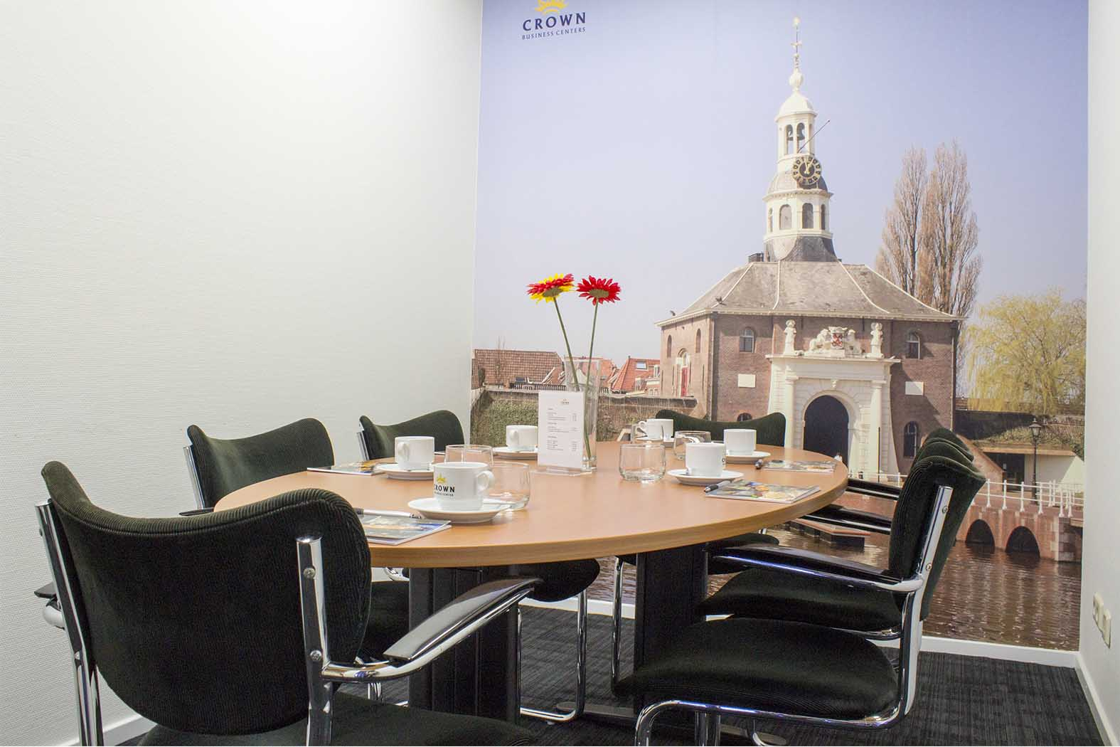Vergaderen in Haarlem | Crown Business Center | Office & Meetings