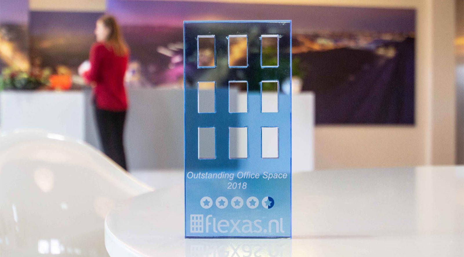Flexas review award 2018 - Crown Business Center Haarlem - Kantooruimte
