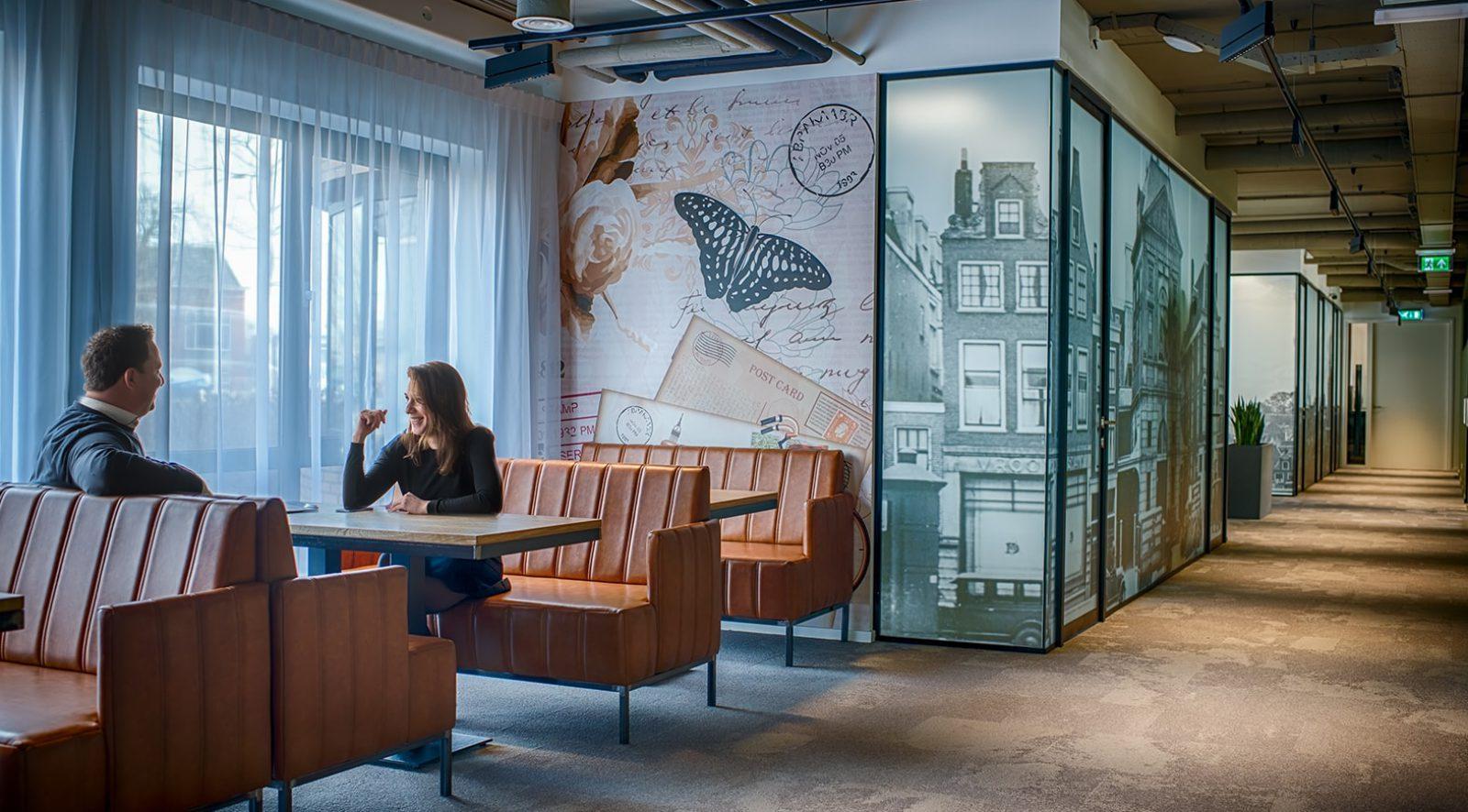 Ontvangstruimte Leiden Key-Point | Crown Business Center | Office & Meetings