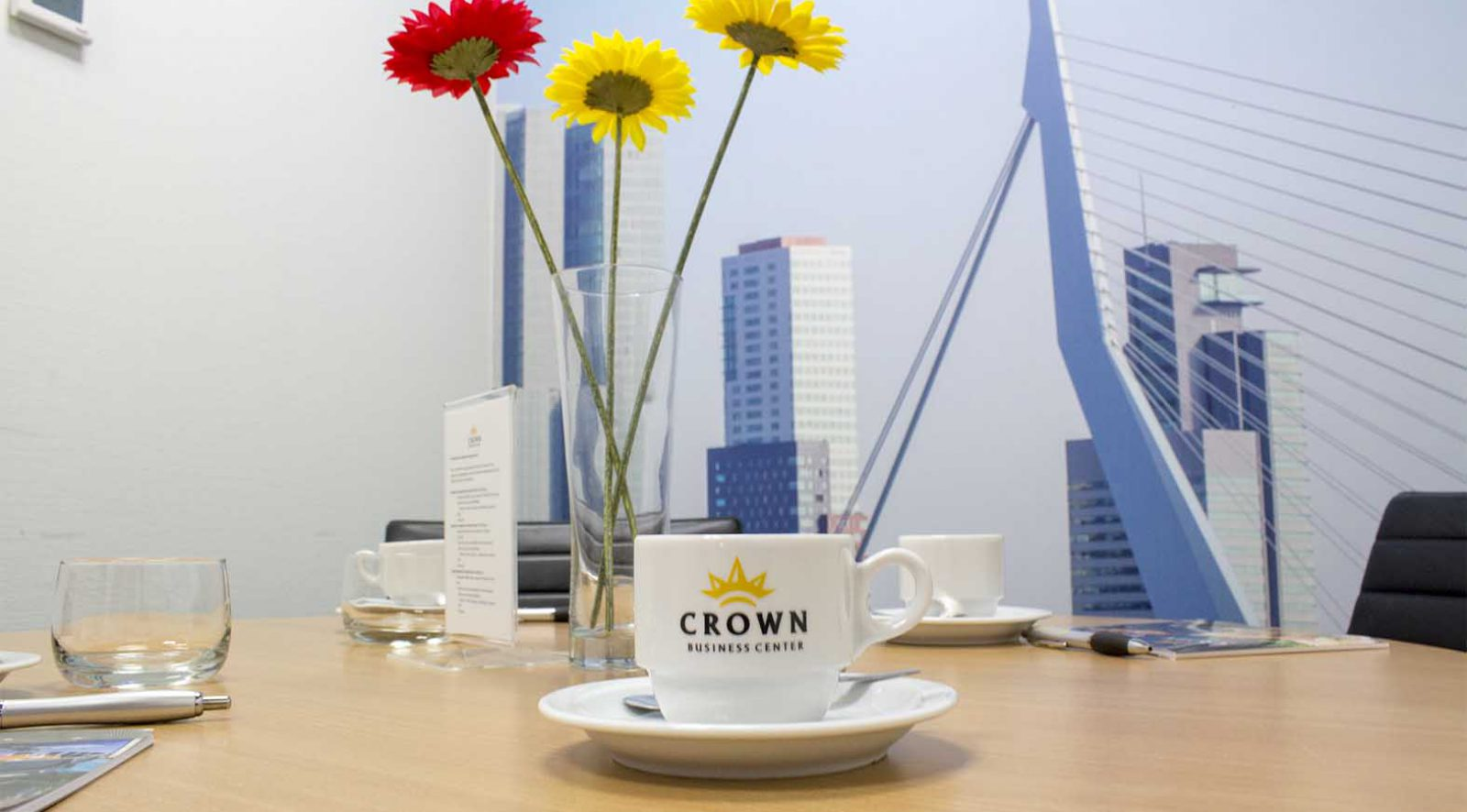 Vergaderruimte huren in Haarlem | Crown Business Center Haarlem