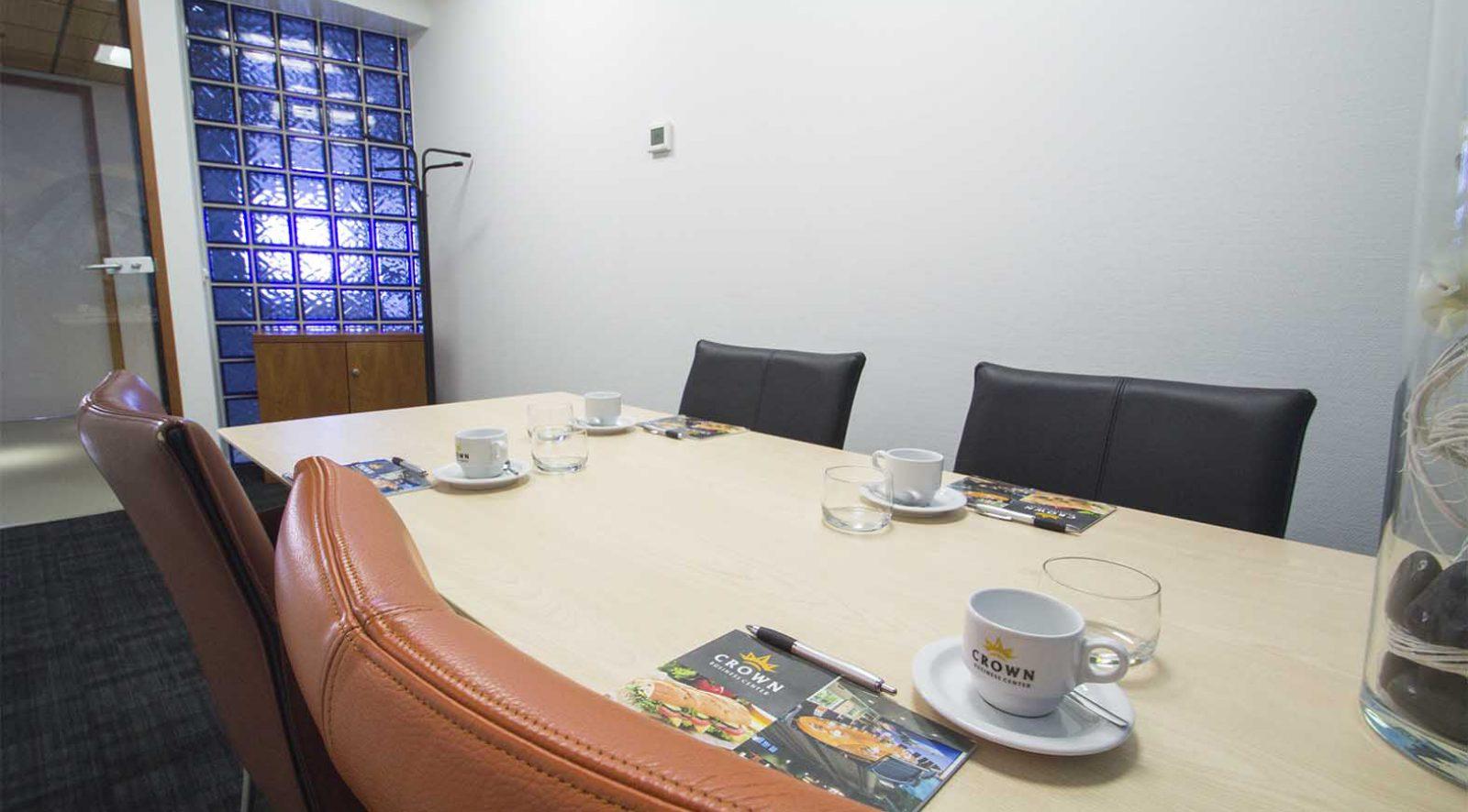 Vergaderzaal huren in Haarlem | Crown Business Center Haarlem